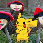 Un pokemon demana asil a un tió de Nadal